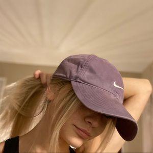 Purple Nike dad hat